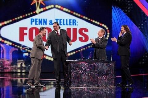 Penn & Teller - Alan Hudson