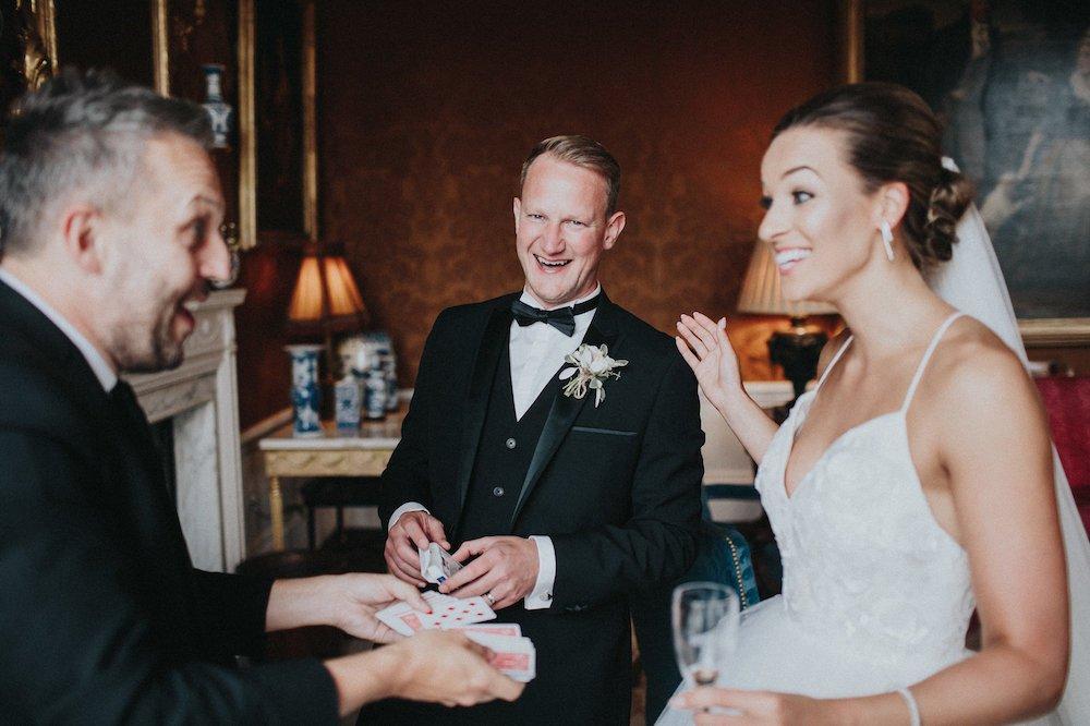 Surrey Magician Wedding