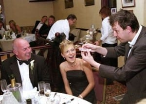 wedding magician alan hudson
