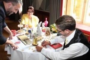 Smallest Magician Wedding
