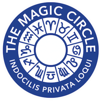 The Magic Circle logo, London