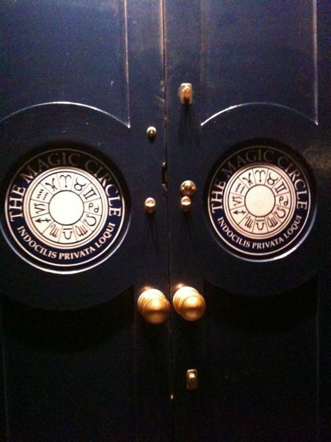 Ever Wondered What The Doors To The Magic Circle Look Like